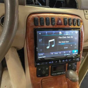 Alpine Touchscreen stereo system installed by Covina Sound