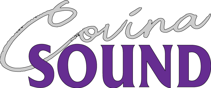 Covina Sound stereo shop logo
